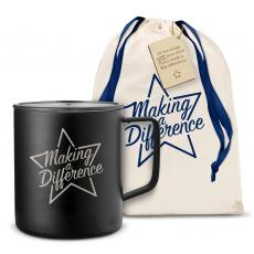 Camp Mug - Making a Difference Star 14oz. Travel Camp Mug