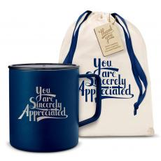 Camp Mug - Sincerely Appreciated 14oz. Travel Camp Mug