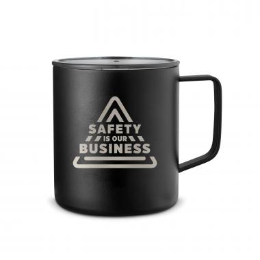 Safety is Our Business 14oz. Travel Camp Mug