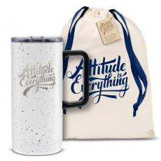 Vacuum Insulated - Attitude is Everything 18oz. Travel Camp Mug