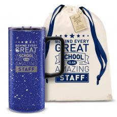 Vacuum Insulated - Behind Every Great School 18oz. Travel Camp Mug