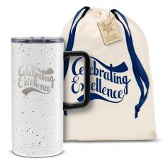 Vacuum Insulated - Celebrating Excellence 18oz. Travel Camp Mug
