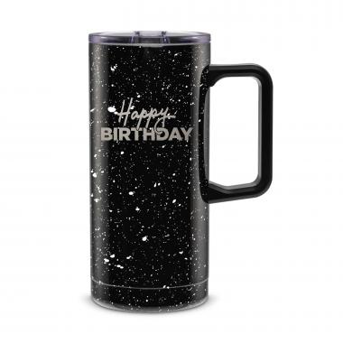 Happy Birthday 18oz. Travel Camp Mug
