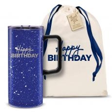 Vacuum Insulated - Happy Birthday 18oz. Travel Camp Mug