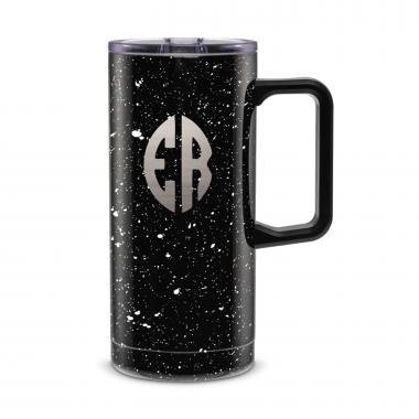 Monogram 18oz. Travel Camp Mug