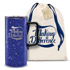 Vacuum Insulated - Making a Difference 18oz. Travel Camp Mug