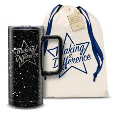 Vacuum Insulated - Making a Difference Star 18oz. Travel Camp Mug