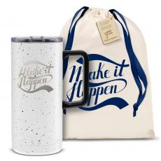 Vacuum Insulated - Make it Happen 18oz. Travel Camp Mug