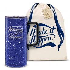 Vacuum Insulated - Make it Happen Square 18oz. Travel Camp Mug