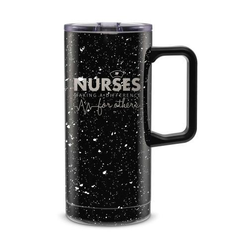 Nurses Making a Difference 18oz. Travel Camp Mug