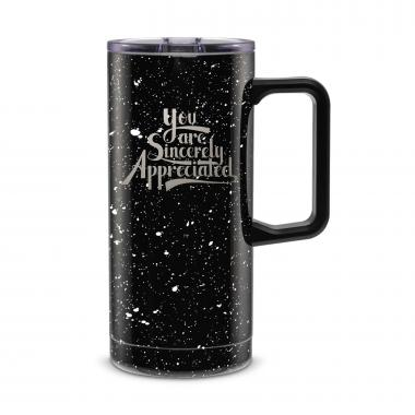 Sincerely Appreciated 18oz. Travel Camp Mug