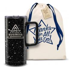 Vacuum Insulated - Safety is Our Business 18oz. Travel Camp Mug