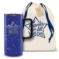 Vacuum Insulated - Thanks for All You Do Star 18oz. Travel Camp Mug