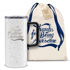 Vacuum Insulated - Thanks for Being Awesome 18oz. Travel Camp Mug