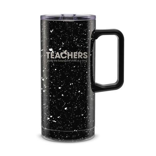 Teachers Building Futures 18oz. Travel Camp Mug