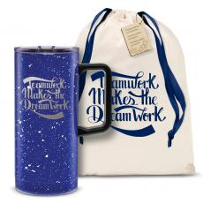 Vacuum Insulated - Teamwork Dream Work 18oz. Travel Camp Mug