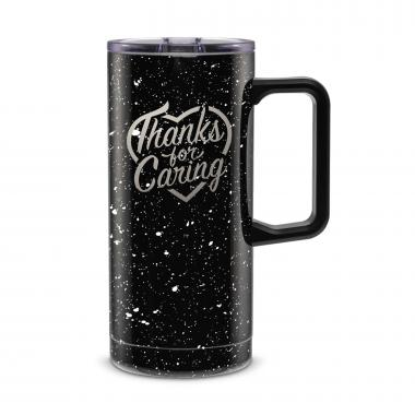 Thanks for Caring 18oz. Travel Camp Mug