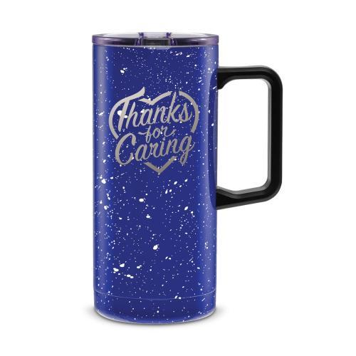 Thanks for Caring 18oz. Travel Camp Mug