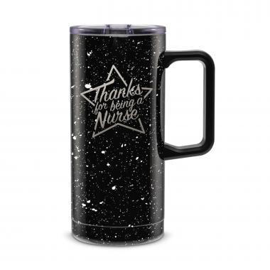 Thanks Nurse Star 18oz. Travel Camp Mug