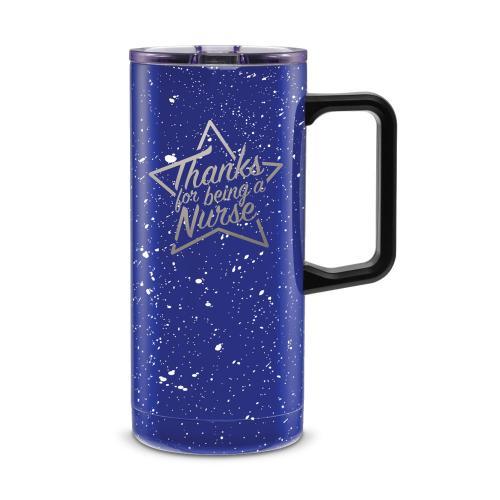 Thanks Nurse Star 18oz. Travel Camp Mug