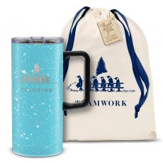 Drinkware - Teamwork Gift 18oz. Travel Camp Mug