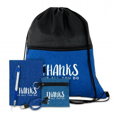 Thanks for All You Do Drawstring Gift Set