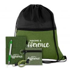 Canvas Bags - Making a Difference Drawstring Gift Set