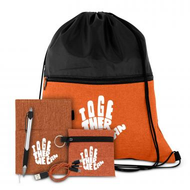 Together We Can Drawstring Gift Set
