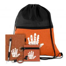 Coolers & Lunch Bags - Together We Can Drawstring Gift Set