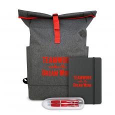 Coolers & Lunch Bags - Teamwork Makes the Dream Work Heather Backpack Set
