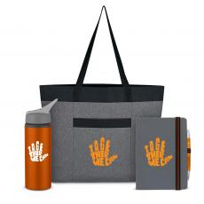 Coolers & Lunch Bags - Together We Can Heathered Tote Set