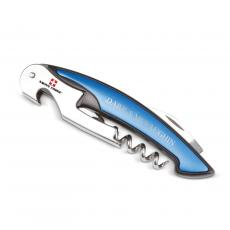 Retirement Gifts - Blue Swiss Force Personalized Wine Multi-Tool
