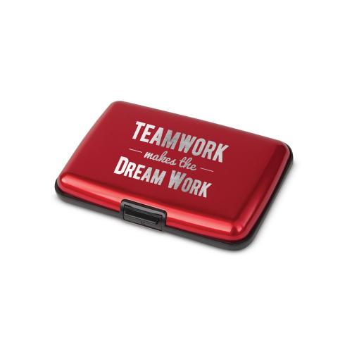 Teamwork Dream Work Aluminum Tech Wallet