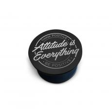 Tech Accessories - Black Personalized Pop Socket