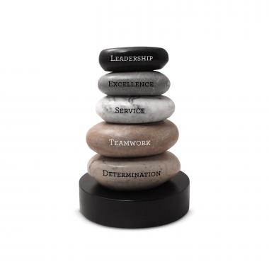 Personalized Zen Stacking Stones