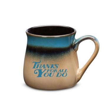 Working With You is a Gift Stone Mug