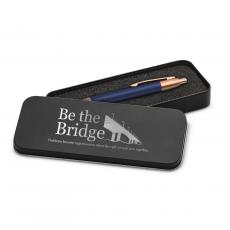 Rose Gold Pens - Be the Bridge Rose Gold Pen & Case