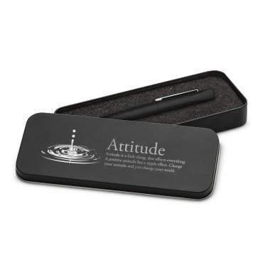 Attitude Drop Soft Touch Pen & Case
