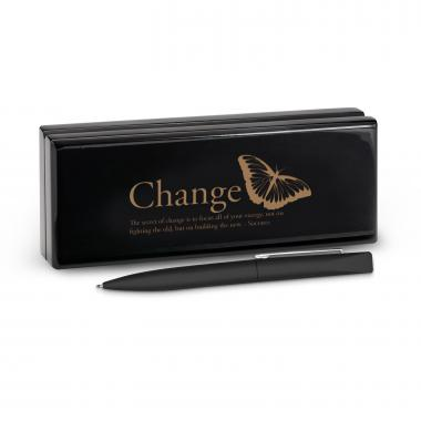 Change Butterfly Soft Touch Pen & Case