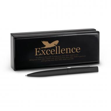 Excellence Eagle Soft Touch Pen & Case