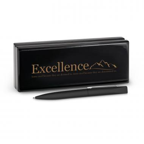 Excellence Mountain Soft Touch Pen & Case