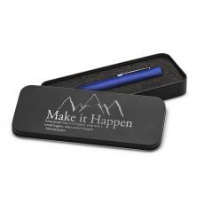 Soft Touch Pens - Make It Happen Mountain Soft Touch Pen & Case