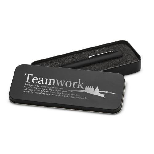 Teamwork Rowers Soft Touch Pen & Case