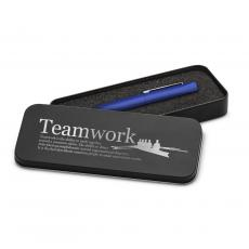 Fun Motivation & Gifts - Teamwork Rowers Soft Touch Pen & Case