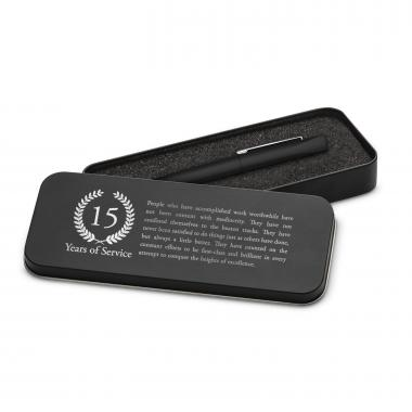 Years of Service Soft Touch Pen & Case