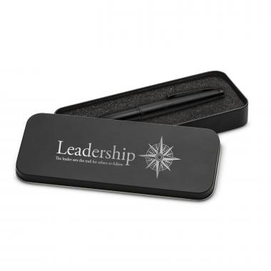 Leadership Compass Two-Tone Stylus Pen & Case