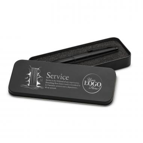 Service Waterfall Two-Tone Stylus Pen & Case