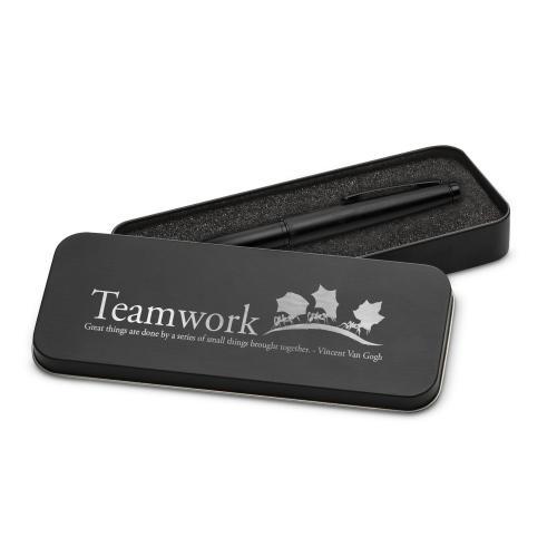 Teamwork Ants Two-Tone Stylus Pen & Case