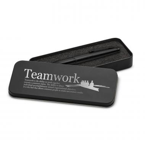 Teamwork Rowers Two-Tone Stylus Pen & Case