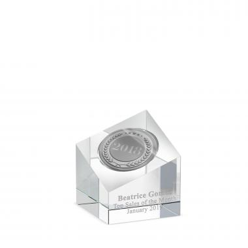 Cubo Acrylic Medallion Holder